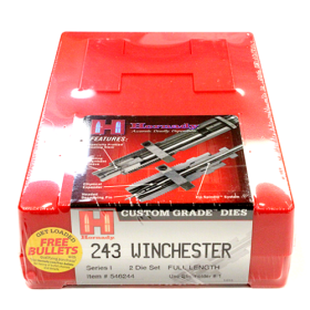 HORNADY 2 DIE SET 243 WIN (.243)
