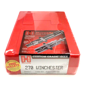 Hornady 2 Die Set 270 Win (.277)