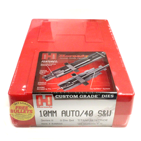 Hornady 3 Die Set 10mm/40 S&W (.400)
