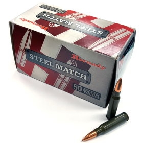 Hornady Steel Match 308 Win 155 BTHP Ammo