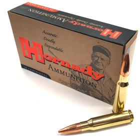 Hornady .308 Cal 168 Gr Ammo