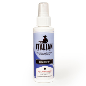 2 OZ  CLEARVIEW LENS CLEANER ITALIAN GUN GREASE