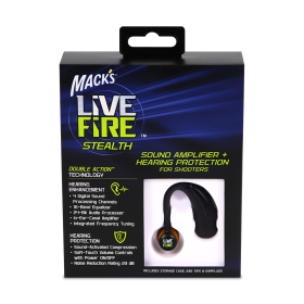 Mack's Live Fire Steath Electronic Ear Plug
