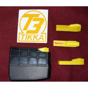 PLASTIC MAGAZINE SINGLE ROUND INSERT FOR TIKKA T-3