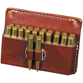 .308 LEATHER 20 RD BOXHOLDER