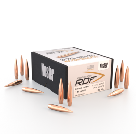 NOSLER RDF 6.5MM 140 HPBT BULLETS (100 CT)
