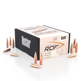Nosler RDF 22 70 HPBT Bullets (500 Ct)