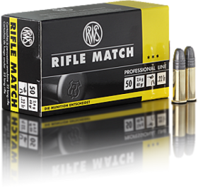 RWS .22 LR Rifle Match Ammunition