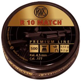 RWS R10 Pellets 4.50mm 53 Gr .177