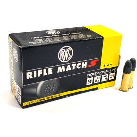 "RWS .22 LR Rifle Match ""S"" Ammunition"