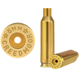 Starline 6mm Creedmoor Large Pocket Brass Cases