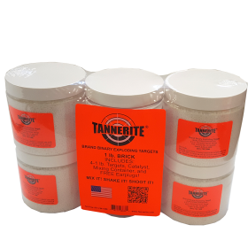 4 PACK OF 1LB TANNERITE TARGETS