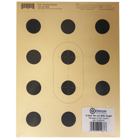 Orion 12 Bull Air Rifle Targets