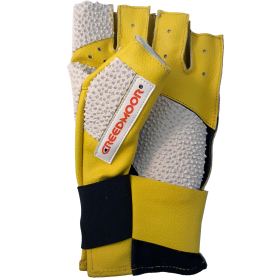 Creedmoor Half Finger Yellow/White Glove