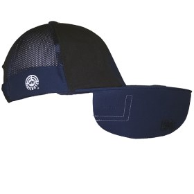 ANSCHUTZ AHG SHOOTERS CAP BLACK AND BLUE