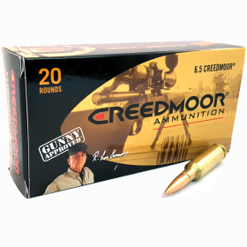CREEDMOOR 6.5 CREEDMOOR 142 GR HPBT AMMUNITION