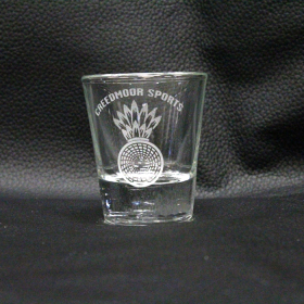 ETCHED DRINKWARE SHOT GLASS
