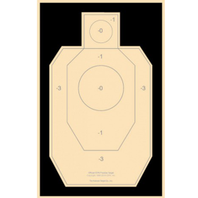 IDPA Practice Target