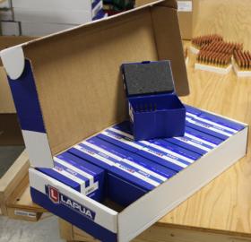 CASE OF 10 EMPTY LAPUA BOXES