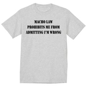 MACHO LAW
