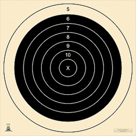 FULL FACE 500YD F-CLASS TARGET