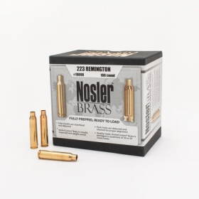 Nosler Brass 223 Remington (100 Ct)