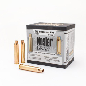 Nosler Brass 300 Winchester Magnum (50 Ct)