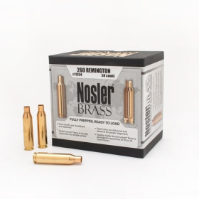 Nosler Brass 260 Remington (50 Ct)