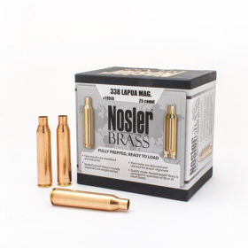 Nosler Brass 338 Lapua (25 Ct)