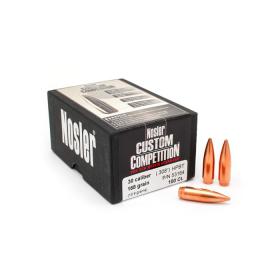 Nosler 30 Cal 168 Gr HPBT Bullets (100 Ct)