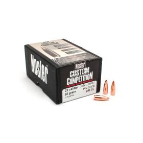 Nosler 22 Cal 52 Gr HPBT Bullets (250 Ct)