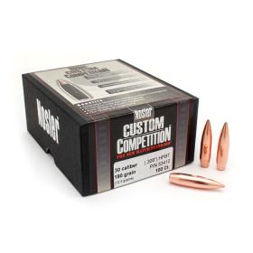 Nosler 30 Cal 190 Gr HPBT Bullets (100 Ct)