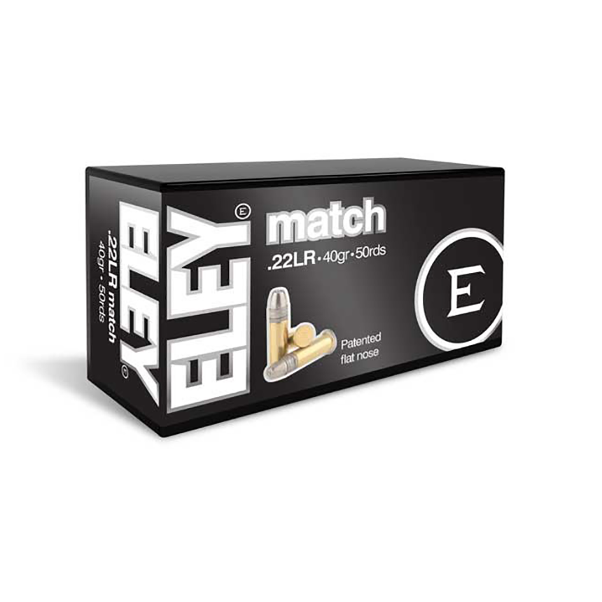 ELEY MATCH EPS 22LR AMMUNITION