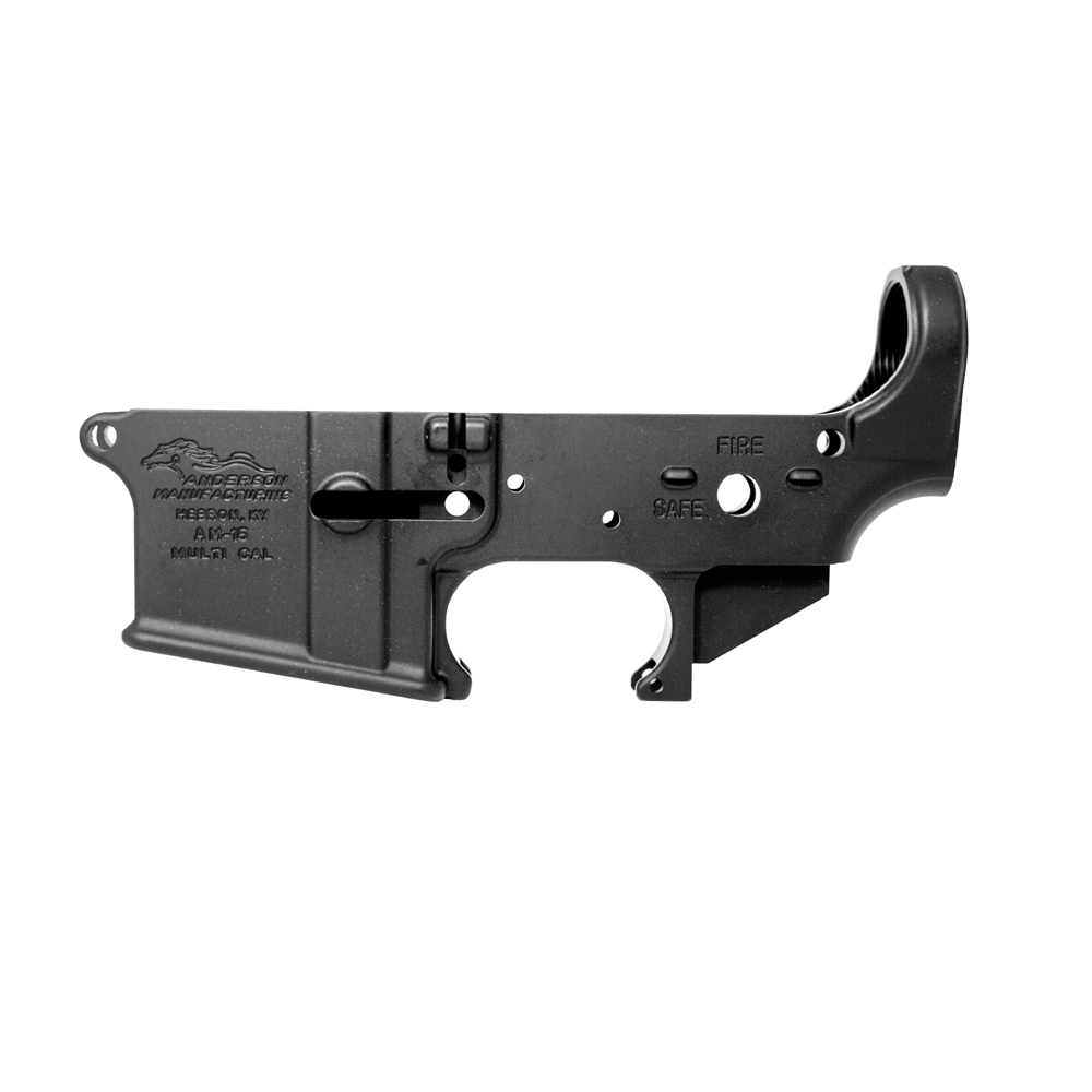 Anderson Mfg Stripped Lower 7075-T6 Multi-Cal