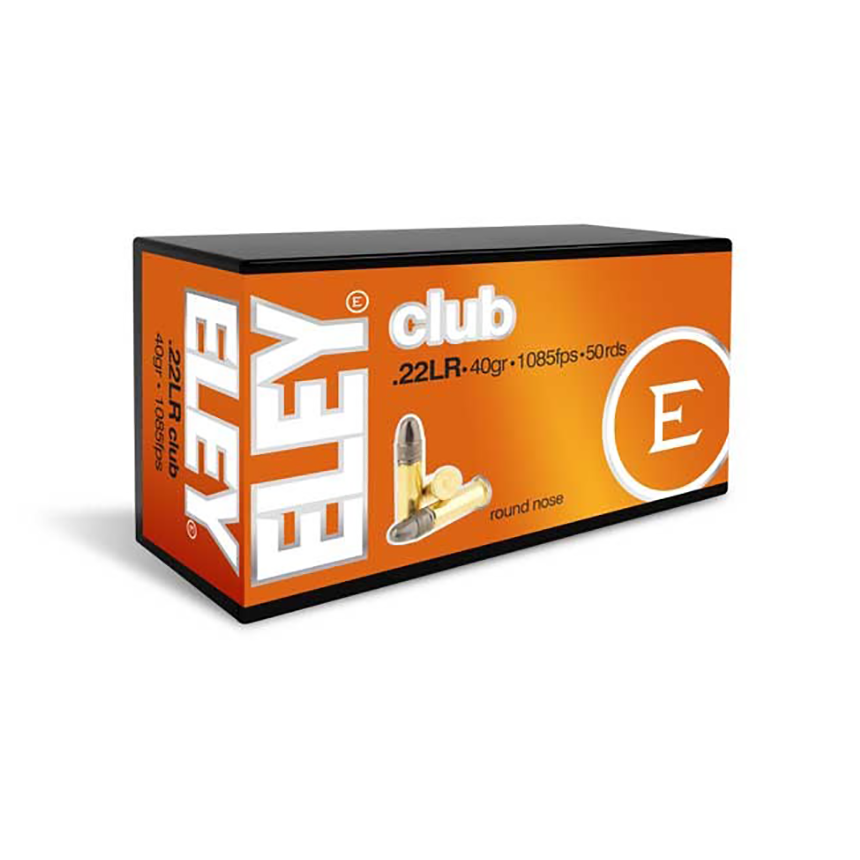 ELEY CLUB 22LR AMMUNITION