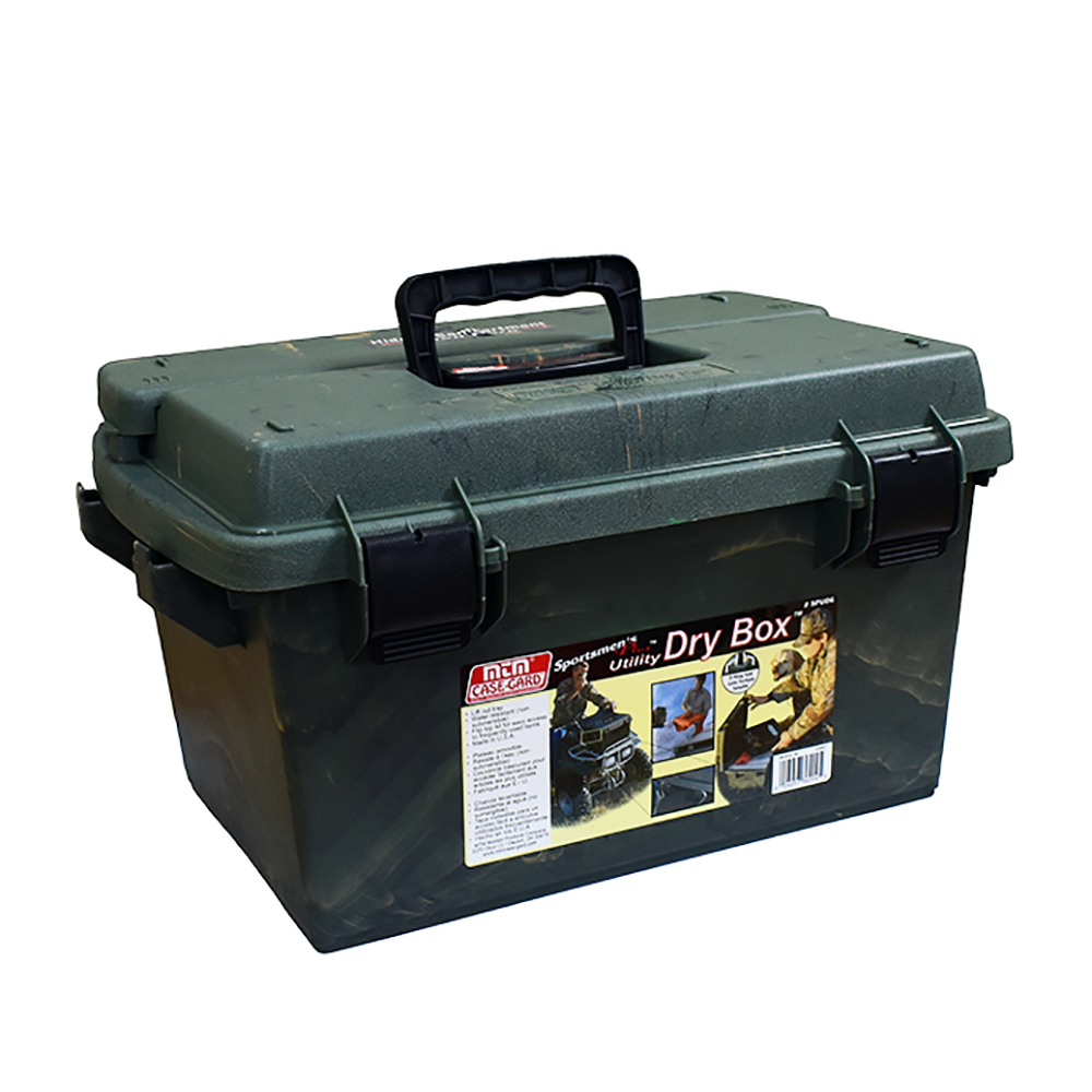 "Sportsmen's Plus Utility Dry Box O-ring Sealed 19x13x10.4"""