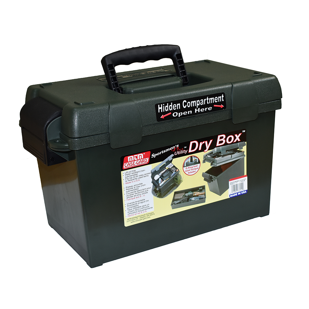 Sportsmen's Plus Utility Dry Box O-ring Sealed 15x8.8x9.4