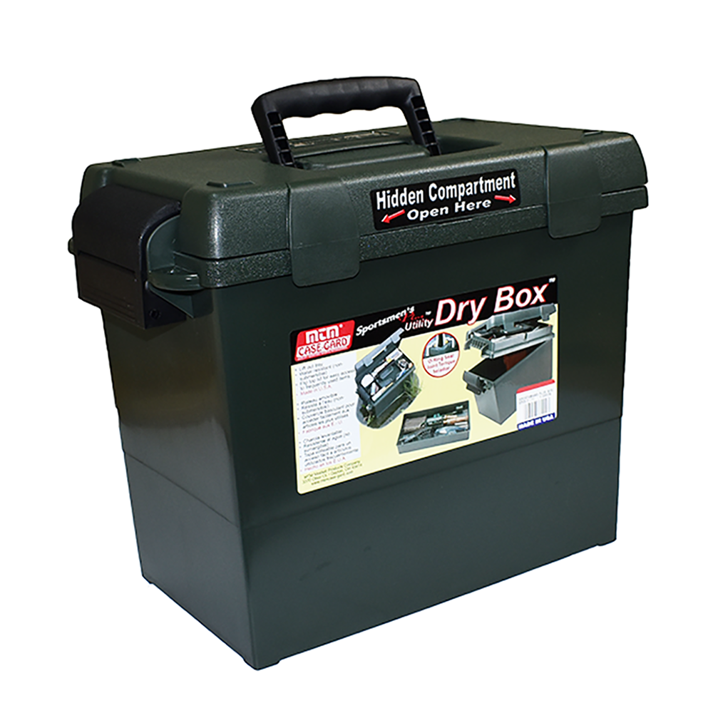 Sportsmen's Plus Utility Dry Box O-ring Sealed 15x8.8x13""