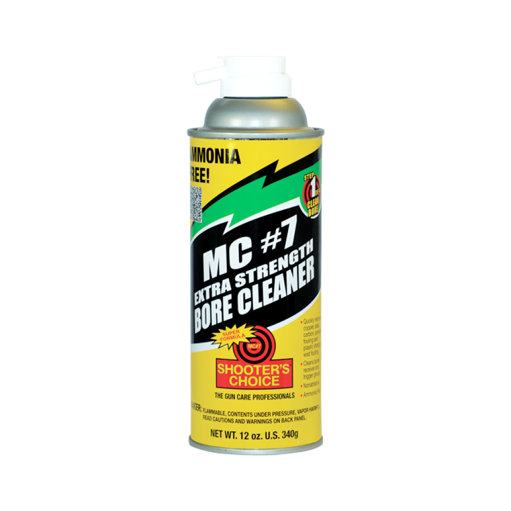 Shooter's Choice MC7 Extra Strength Bore Cleaner 12 Oz