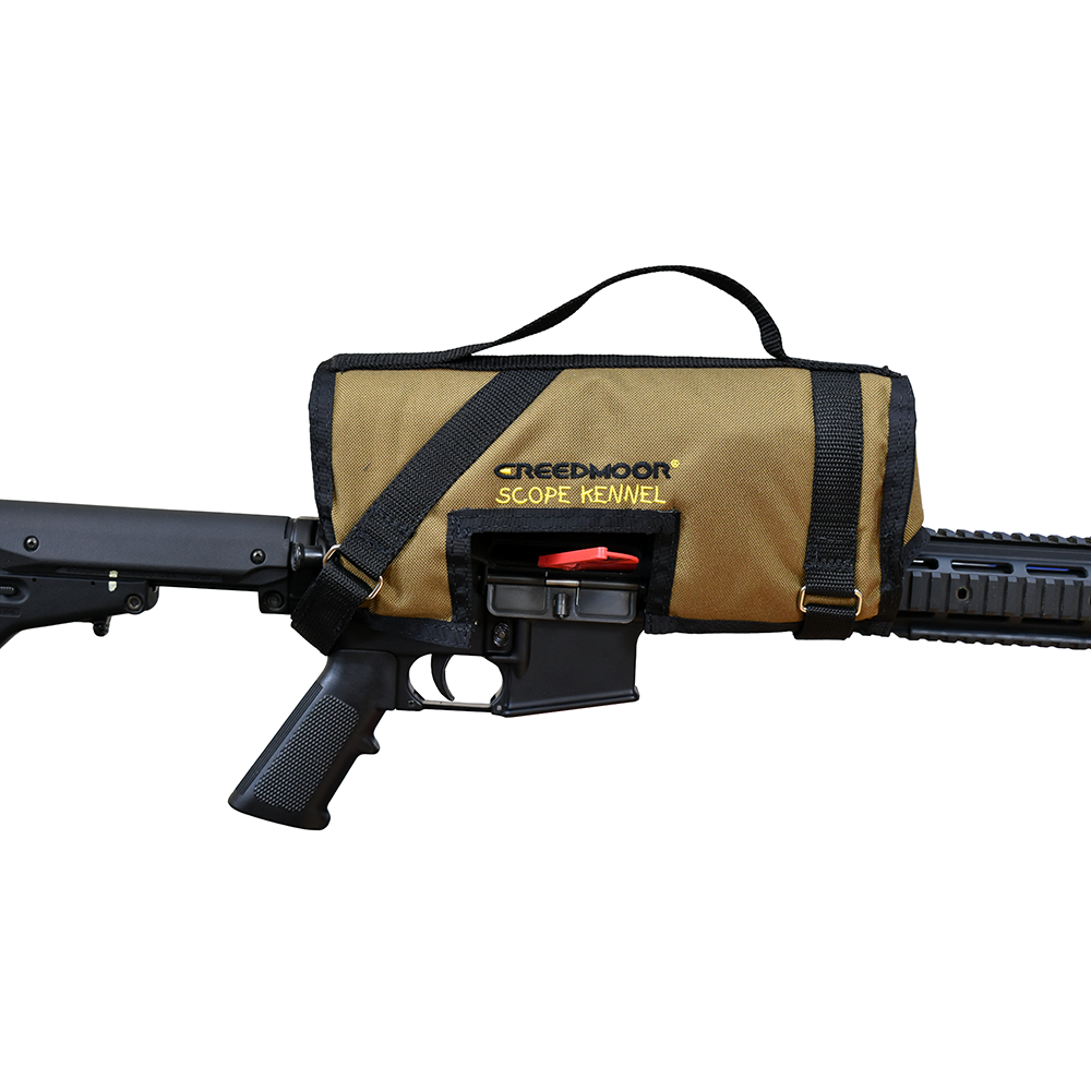 CREEDMOOR SCOPE KENNEL WITH VELCRO
