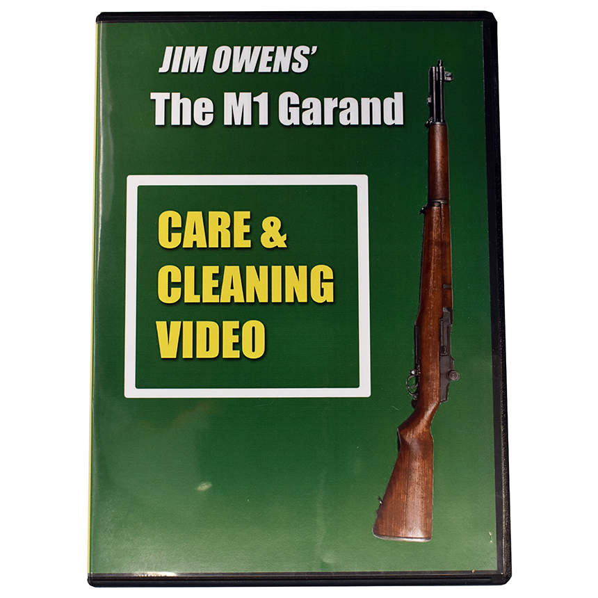 Jim Owens Pro Dvd M1 Garand Care And Cleaning