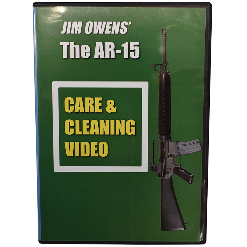 Jim Owens Pro Dvd AR-15 Care And Cleaning