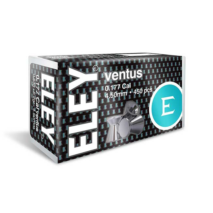 Eley Ventus  Pellets 4.50mm .177