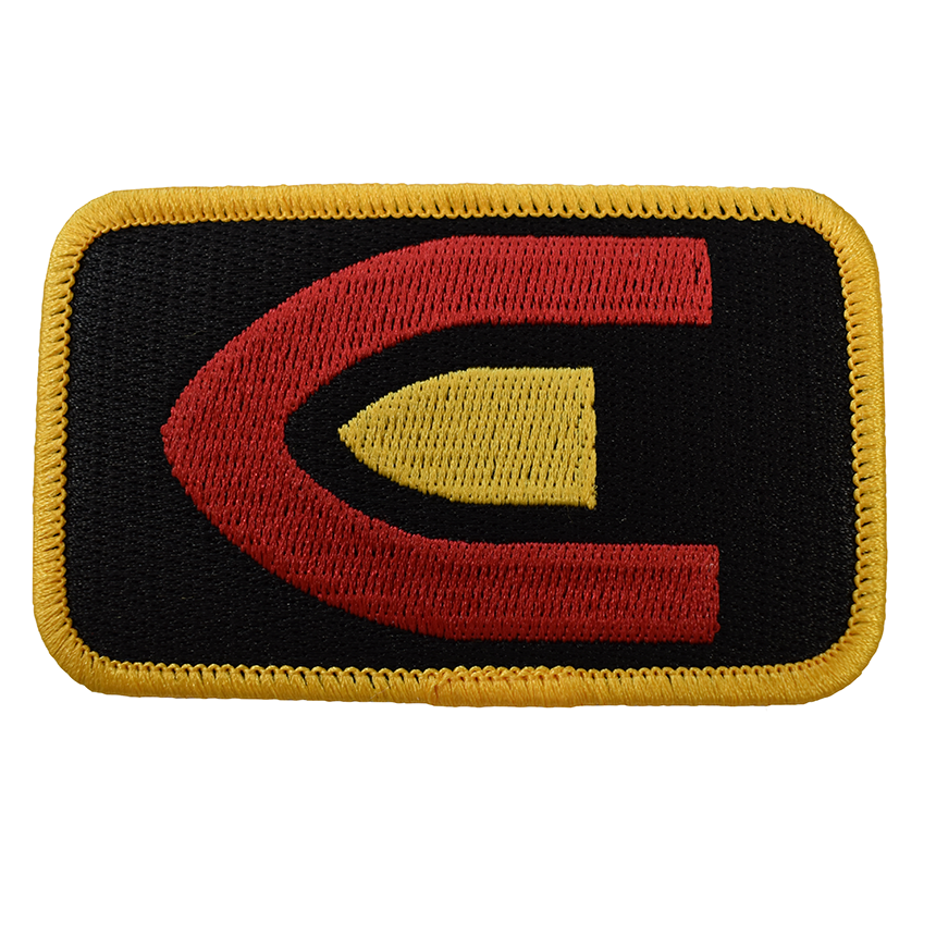 CREEDMOOR BULLET SEW-ON PATCH