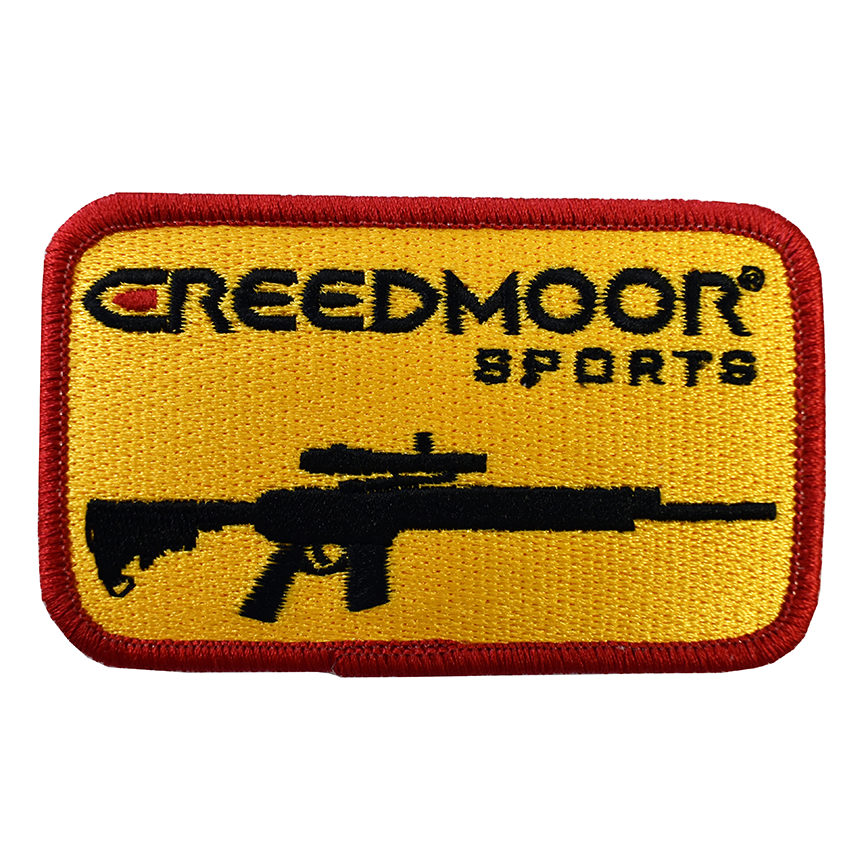 Creedmoor Rifle Sew-on Patch