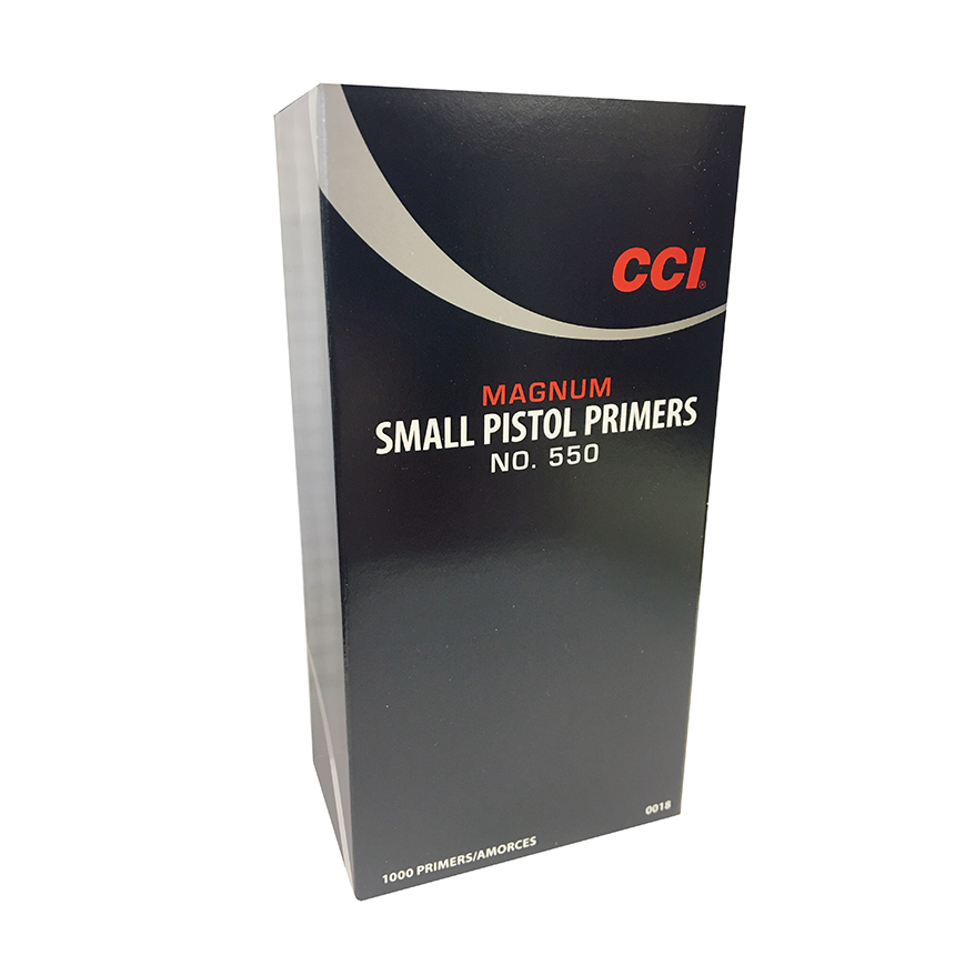 CCI #550 SMALL PISTOL MAGNUM PRIMERS