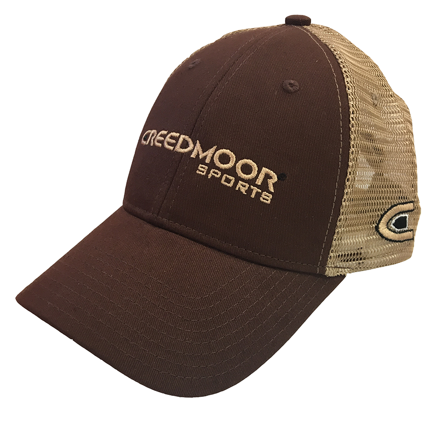 BROWN CREEDMOOR LOGO HAT