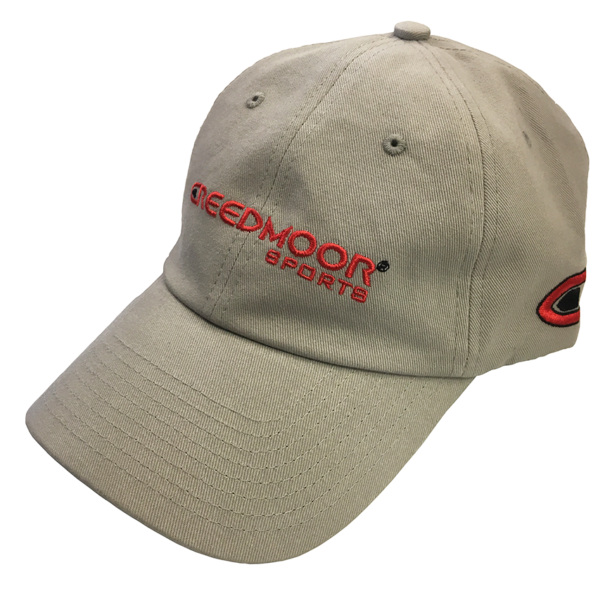 Grey Creedmoor Logo Hat