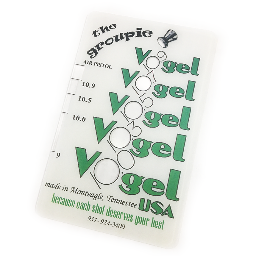 Vogel Group Sizing Card