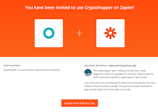 apps automated automatic crypto cryptocurrency bitcoin ethereum trading bot platform cryptohopper zapier